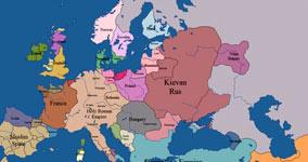 10 Jahrhunderte in 5 Minuten, Europa
