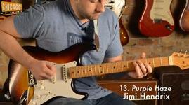 100 Riffs, Gitarre