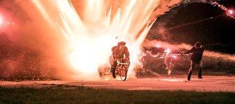 1000 Raketen Fahrrad
