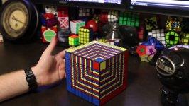 17x17x17 Solve Time-lapse