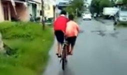 2 Kids 1 Bike Fahrrad