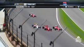2013 Firestone Indy Lights Close Finish