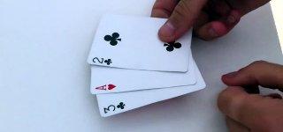 3 Karten Trick