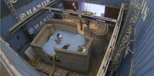3D Betondrucker Hausbau