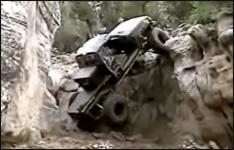 4x4, offroad, berg, auto