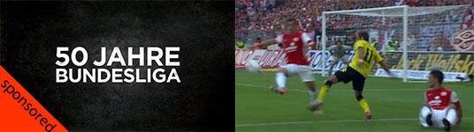 50 Jahre Bundesliga in einem Spielzug
