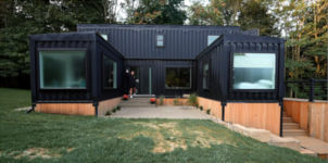 Wohnung Haus Schiffs-Container
