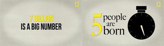 7 Billionen Menschen, Fakten, Doku, National Geographic Magazine