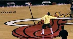 75000 dollar basketball wurf