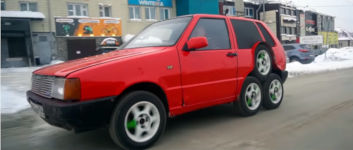 Fiat 8 Räder