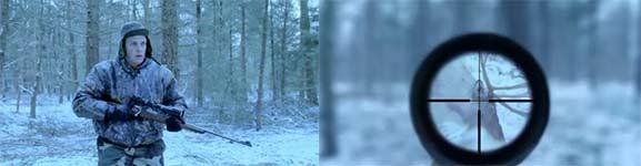 A Merry Hunt, Jäger, Weihnachten