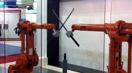 ABB Robots Katana Fight