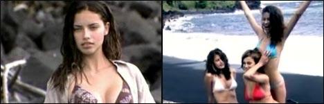 Adriana Lima Videoclip