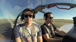 Kunstflug-Flugzeug, Angst