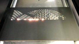Laser Metal Kunst Art
