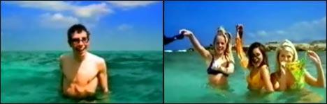 agfa, foto, unterwasser, ohne bikini