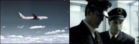 Aids, Flugzeug, schwule Piloten