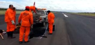 Flughafen Reparatur