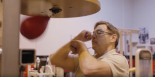 Alan Kahn Speed Bag Punchingball Boxbirne