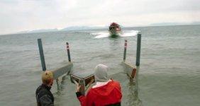 Fischerboot aufladen