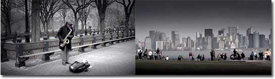 allein in New York