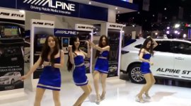 Alpine Asia Girl Dance