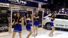 Alpine Asia Girl Dance