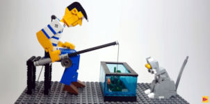 10 Amazing LEGO Mechanical Motion Scenes