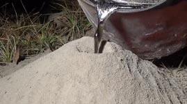 Ameisen, Aluminium Kunst