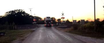 Bahnübergang Unfall Oklahoma