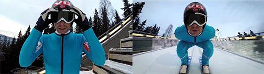 Anders Jacobsen, Ski springen