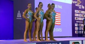 'Kunstschwimmen, Robots, USA