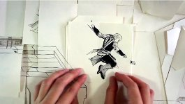 Assassin's Creed Papier Parkour