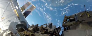 Astronaut Erde Spacewalk ISS