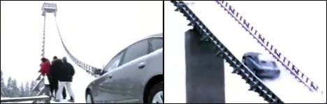 Audi Quattro, Ski, Schanze