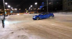 Audi S5 Drift Fail
