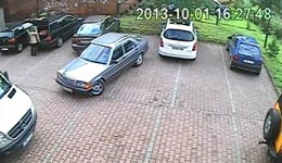 Parken, Frauen, ausparken