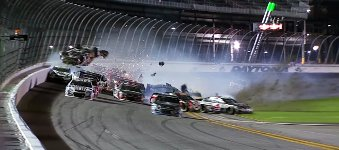 Crash Daytona International Speedway