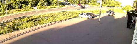 Auto ausparken Pfosten Unfall