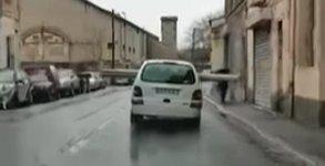 Auto Fracht Frankreich