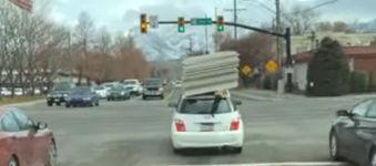 Autodach Platten