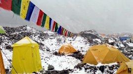 Lawine Basecamp Everest Nepal