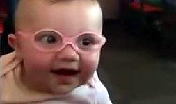 Baby Brille Eltern sehen