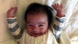Baby Hands up