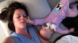 Mama Baby nicht schlafen