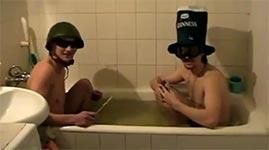 badewanne, russland, knaller