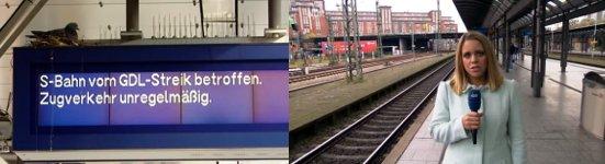 Bahnstreik, GDL, Satire