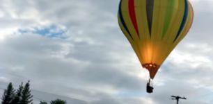Heißluftballon Strom