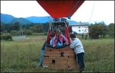 Heißluftballon fahrt bauanleitung