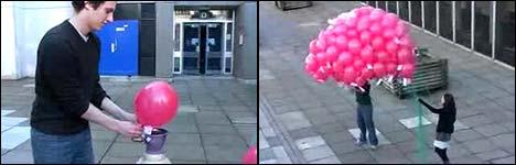 Luftballons, heißluftballon, Ballon fahren, Ballongrüße